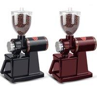 2 ألوان طاحونة كهربائية حبوب البن طاحونة 200W القهوة المقنونة الكهربائية