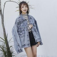 Women's Jackets Denim Jacket Female 2021 Jean Coat Women Plus Size Jaqueta Feminina Retro Outerwear Spring Outwear Cothes Oversized Harajuku