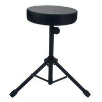 Nouveau tabouret de tambour chaise de tambour non réglable à tambour noir ronde rocheuse rocheuse rocheuse arbre tabouret tarum chaise