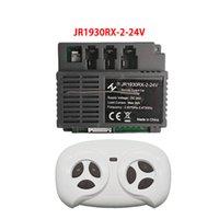JR1930RX-4P-24V JR193RX-2-24V voiture électrique de voiture électrique Bluetooth télécommande ou récepteur, commandant de chariot de bébé Pièces de la carte principale