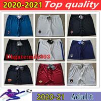2020 2021 Itália Soccer Shorts Cortos de Futbol 20 21 Milão Boca Futebol Calzoncillos Foot Ball Shorts