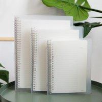 Notepads Minkys 60 Sayfalık B5 26 Yüzükler Gevşek Yaprak Dizüstü Bilgisayar DIY Hattı / Izgara / Cornell Gündem Ayırıcı Sayfa Okul Kırtasiye1