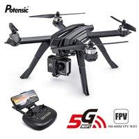 Professionelle GPS-Drohne Potenssic D85 Drohnen-Quadkopter bürstenlose Follow Me-Modus Fernbedienung RC Hubschrauber Spielzeug Geschenke LJ200908