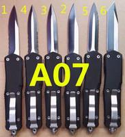 Mict A07 9 inç Çift Aksiyon Kendini Savunma Katlanır EDC Otomatik Otomatik Cep Bıçak Survival Avcılık Taktik Bıçaklar Noel Hediye