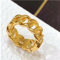 أزياء الذهب إلكتروني الحب خواتم باجي لسيدة المرأة حزب عشاق الزفاف هدية الاشتباك مجوهرات مع مربع الذهب Y552