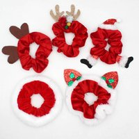 Peluche Hairbands Bannelette Santa Claus Coiling Antlers Elastico Elastico Adulto Donna Moda A CaShope Natale 2020 3 2Ry K2