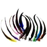 100 stücke 25-30cm Fasaner Schwanzfeder Haarverlängerung für Party Hochzeitsstrauß Dekorationen Handwerkslänge IF13
