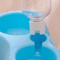 Forma di zucca Animali domestici Double Bowl Food Food Water Feeder Distribuzione Distribuzione facile Easy Rimozione Eco-friendly per PET Lavastoviglie sicura Stabil YYF3651