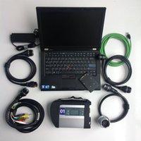Outils de diagnostic Outil de diagnostic de réparation automobile Utilisé Ordinateurs portables T410 4G + MB STAR C4 SD Connect Compact + 360 Go SSD avec logiciel1