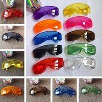 Mode Schutzbrille Anti-Nebel Staubdichte Brille Brillen Unisex Eye Glas Transparente Outdoor Splash Proof-Schlag Sicherheitsgläsern