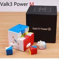 Valk 3 Valk3 Power M Mini Größe Cube 3x3 Geschwindigkeit Magnetische Würfel MOFANGGE Qiyi Wettbewerbswürfeln Spielzeug WCA Puzzle Magentic Magic Cubes Y200428