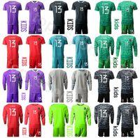 Çocuklar Uzun Kollu Meksika Kaleci Gençlik Guillermo Ochoa Jersey 13 Set Kaleci Futbol 1 Corona 10 Blanco Jorge Campo Futbol Gömlek Kitleri