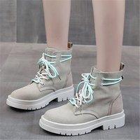 2021 새로운 여성 고품질의 겨울 두꺼운 배경 렌탈이 아닌 미끄럼 착용 여성 캐주얼 신발 9i76
