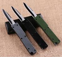 8 modelos mini-Key bolso fivela chaveiro faca de alumínio acampamento tático coleção caça dobrar facas xmas faca presente