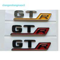 Krom Siyah Harfler G T R Trunk Amblemler Rozetleri Amblem Sticker Mercedes Benz C190 X290 R190 Coupe Cabrio AMG GT GTR GTR