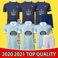 2020 2021 RC Celta دي فيغو لكرة القدم جيرسي Lobotka Iago Aspas Santl Mina Kids Football Shirt Sisto Boufal