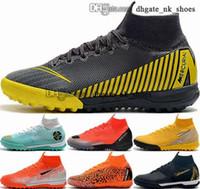 Кроссовки футбольные бутины 5 35 46 12 Superfly Botines Женщины TF Футбольные ботинки Мужчины Размер США Мужская VI в обуви EUR Mercurial 6 CR7 Крытый Scarpe