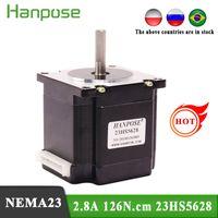 Freies Verschiffen NEMA 23 Schrittmotor 23HS5628 Motor 4-Blei 57 Reihenmotor 2.8A 126n.cm für 3D-Druckermonitorausrüstung