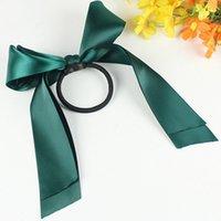 Boutique colorée Bords élastique bande de cheveux pour fille et femme accessoires ruban arc de coiffe de coiffure
