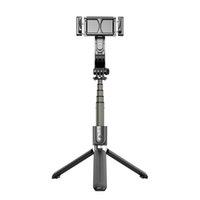 مصنع الجملة l08 قبضة gimbal استقرار ترايبود توازن السيارات مكافحة اهتزاز selfie عصا حامل اللاسلكية بلوتوث النائية قابل للتعديل حامل
