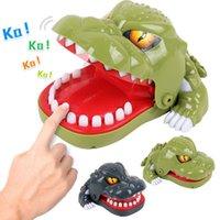 المزحة النكات العملية لعبة هدية عض الدين الديناصور مضحك الأدوات المضادة للإيصال الإغاثة الجدة لعبة الرعب التوحد بارد غريب antistress q0115