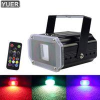 2021 20W Mini RGB LED LED Strobe Light Dco Telecomando Stage Stage Effect Effetto SMD 5050 Luci Strobe per DJ Indoor Club Xmas KTV