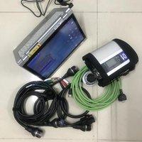 Diagnosewerkzeuge MB Star C4 mit Laptop SD Connect Compact 4 Werkzeugsoftware 480g SSD 2021.09 HHT in CF-AX2 Tablet bereit zu bedienen