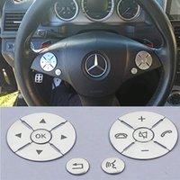Oritech für Mercedes Benz C E S-Klasse W204 W212 W221 GLK X204 C200 C250 C250 Auto Innenraum Lenkradschalter Schaltabdeckung Aufkleber