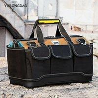 سعة كبيرة أداة حقيبة الأجهزة المنظم حزام crossbody الرجال حقائب السفر أدوات المفك مجموعة كهربائي نجار حقيبة يد حقيبة LJ201118