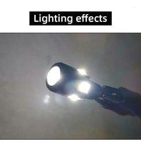 자동차 LED 너비 빛 T10 램프 구슬 6SMD18W 슈퍼 밝은 낮 주행 조명 수정 된 운전 표시 등 신호 램프 1