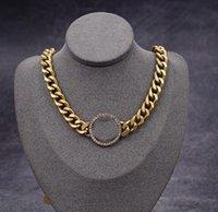 D Designer Halskette Überzogene Schraube Schmuck Schlüsselbeinkette mit Rosengold Platinum Einfache und Mode Frau Liebe Geschenk 18 Modell