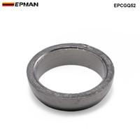 Эпман пончик стиль графита выхлопная прокладка для автомобильных аксессуаров Универсальная падающая к прокладке стыковой прокладки Flange EPCGQ52