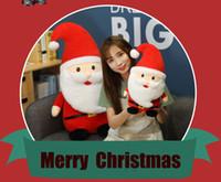 Мультфильм Санта-Клаус Кукла Орнаменты elk куклы плюшевые игрушки праздник куклы рождественские подарки детские игрушки