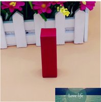 2 * 2 * 7.1 cm 50pcs / lot piccola carta kraft carta essenziale olio di profumo bottiglia partito scatola di imballaggio scatola regalo rossetto pacchetto di carta cosmetica