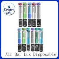 Barre d'air Lux Dispositif jetable intégré Batterie 500mAh Batterie 2.7ml Pods de Vape 1000 Puffs DAB Pen Starter Kit Bang XXL