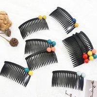 1 adet Siyah Kuaförlük Combs 9.5 cm Geniş Düz Kuaför Saç Fırçası Saç Kesme Tarak Pro Salon Saç Bakımı Styl Qyludx