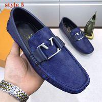 2020 Yeni Erkekler Ayakkabı Moda Lüks Sneakers Flats Metal Düğme Bezelye Ayakkabı Klasik Rahat Sürüş Ayakkabı Erkekler Için Yüksek Kalite ile