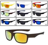 العلامة التجارية الصيف الرجال دراجة زجاج القيادة النظارات الشمسية الدراجات نظارات النساء والعزل نظارات نظارات نظارات 9 ألوان A ++