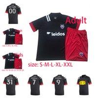 20-21 DC United Fans Version Tailandia Home Maillot de Foot Washington Fútbol de alta calidad Jersey Man + Kit Kit # 9 Kamara Gressel MLS Jersey