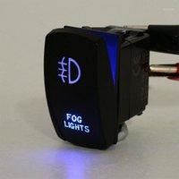 Altro sistema di illuminazione 1 Set Universal Blue LED LED FOG LUCE BAR Laser Rocker Switch Cablaggio Cablaggio Kit Cablaggio Telaio w / 40A Fusibile relè per auto camion MO