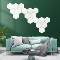 New Honeycomb Touch Lamp Modern LED Night Light Quantum Lamp Modular Touch Sensitive Lighting LED Night Lights Indoor Decor