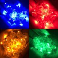 Glimmlampe Perlen DIY Manuelle Material Kunststoff kreisförmige Licht Elektronik Lampen Indoor Geburtstag Party Dekorationen 15mm 0 46by N2