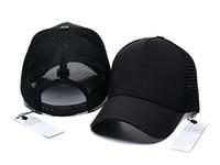 2019 새로운 브랜드 망 디자이너 모자 조정 가능한 야구 모자 레이디 패션 모자 여름 트럭 운전사 casquette 여성 레저 모자 dropshipping
