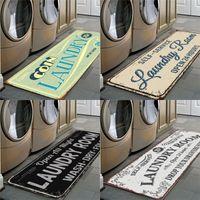 Kaymaz Paspaslar Sarı Siyah Banyo Balkon Çamaşır Odası Desen Kilim Ev Dekor Supplie New Desen 16xK2 J2