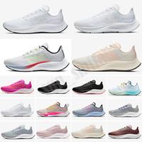 Zoom Pegasus 37 turbo nuevo pegasus hombres 37 mujeres zapatillas blancas multicolor ser verdaderas 2020 zapatillas de deporte al aire libre Flightase Obsidian Niet Piedl