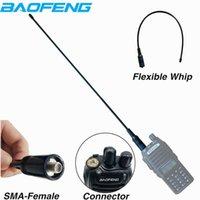 10W Original NA-771 Antena Dual Band VHF UHF Ganho de Alta Power Antena para Baofeng UV-5R UV-82 UV-B2 Baofeng Walkie Talkie Radio1