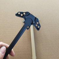 새로운 스타일 블랙 골드 AR15 나비 충전 핸들 어셈블리