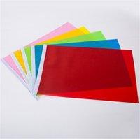 Main petite drapeau rouge 20 * 28cm carré Couleur solide sans photo Sucun mot célébration drapeau de la décoration de couleur solide petite t3i5152 tphvp