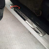 Für Nissan Qashqai J11-Accessoires-Tür-Sill-Beschützer-Auto-Scbf-Platte 2014-2019