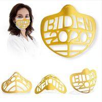 Máscara Bracket Designers de Biden Face Mask Bracket Boca Separador Inner Stand Titular Masks Respirável Suporte Interno Frame Ferramenta DDA832